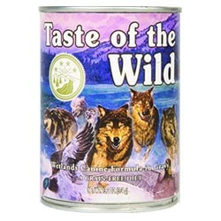 Taste of the Wild - Wetlands Canine Formula Confezione da 12