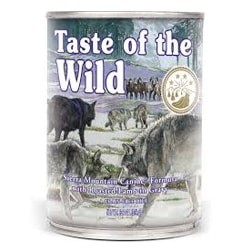 Taste of the Wild - Sierra Mountain Canine Formula Confezione da 12